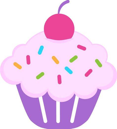 printable cupcake images birthday cupcake clipart clipartion com