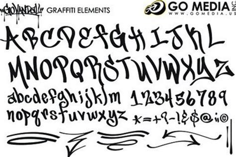 tato alfabet keren graffiti of morality 14 types graffiti fonts