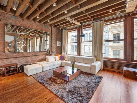 wood brick add traditional design in luxurious soho loft2014 interior design 2014 interior