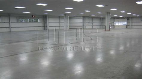 Warehouse Polished Concrete   Hybrid Polished Concrete