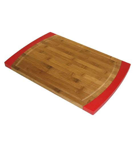 Cutting Board Silicone bamboo cutting board with silicone sides in cutting boards