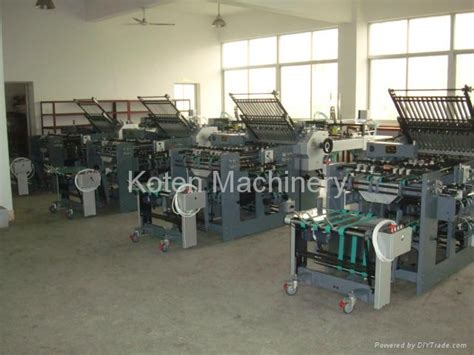 Diy Paper Folding Machine - automatic paper folding machine zyhd e series koten