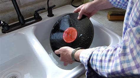 best to record washing a lp record using soap and water cheap and