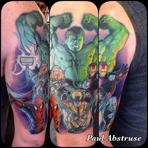avengers tattoo sleeve 50 wonderful infinity war tattoos and designs