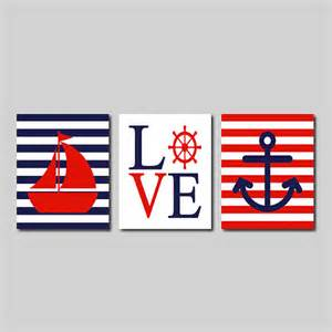 nautical wall sailboat captains by lovelyfacedesigns