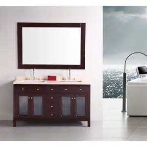 Design Bathroom Vanity Design Element Dec302a Venetian 60 Inch Sink Bathroom Vanity
