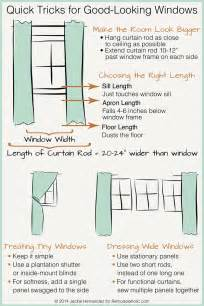 common drapery lengths remodelaholic universal tricks for looking curtain