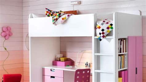 Lit Combiné Fille Ikea by Comment Am 233 Nager Un Lit Mezzanine Pour Une Fille