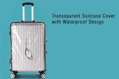 Remax Bantal Leher Travel Rt Sp03 cover koper transparan waterproof 24 inch transparent