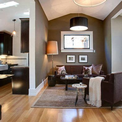 light wall colors light wood floors with dark brown furniture color ideas