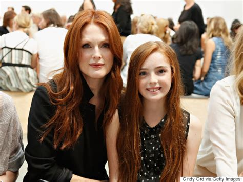 sister red pubic hair julianne moore s kids are all grown up