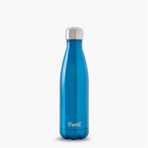 with water bottles s well 174 official s well bottle blue stainless