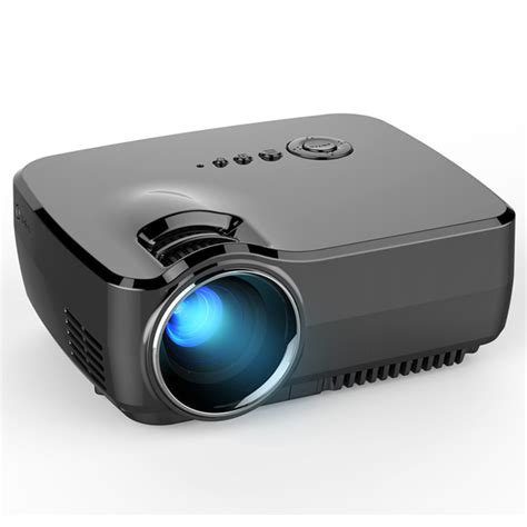 Lcd Proyektor Gp70 Lcd Portable Led Projector 1080p Hd 1200 Lumens