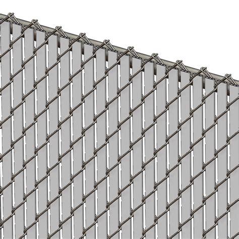 pexco fence slats pds bl chain link fence slats bottom lock 4 foot gray