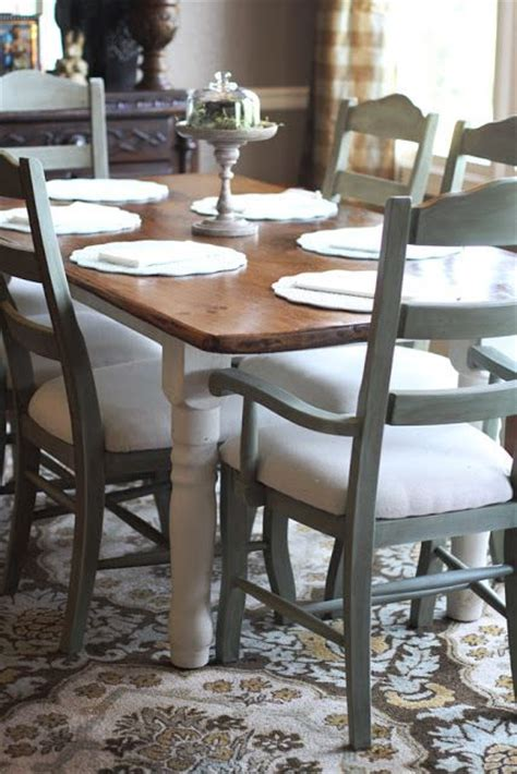 25  Best Ideas about Painted Dining Chairs on Pinterest