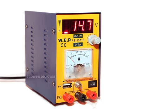 Power Supply 1501 1ere Analog review w e p yescom variable dc power supply ps 1501s 120studio
