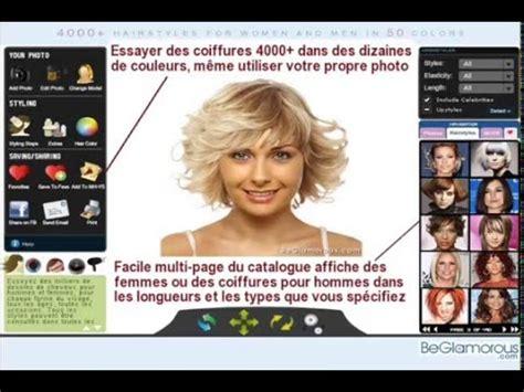 essayez coiffures  telecharger photo simulateur