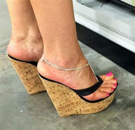 high heeled wedges 801 best high heel thongs images on high heels
