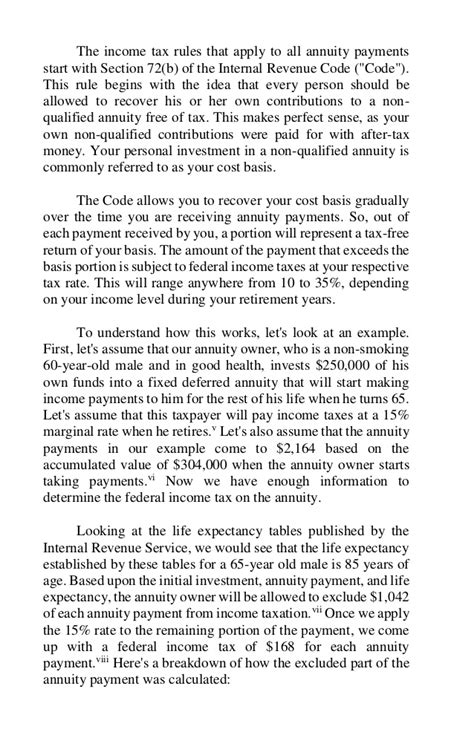 irs code section 72 annuities explained