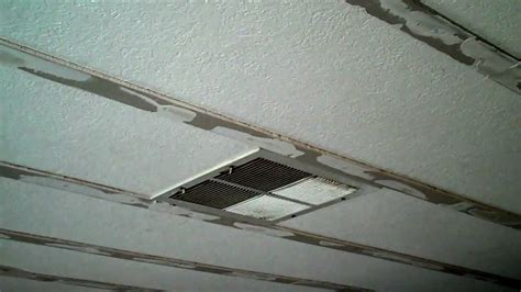 mobile home ceiling panels ceiling fix