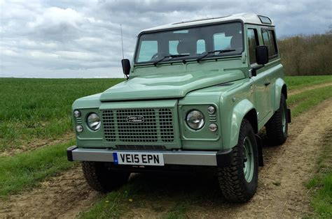 used land rover defender 2016 land rover defender 90 heritage review