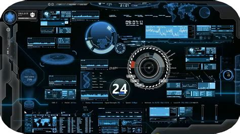jarvis theme for windows 7 rainmeter jarvis for windows 7 8 8 1 10 youtube