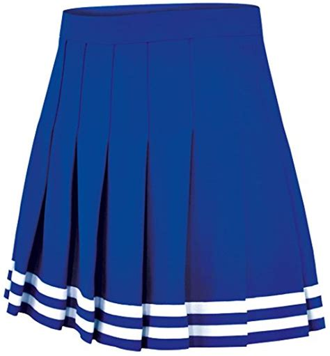 knit knife pleat cheer skirt womens sizes