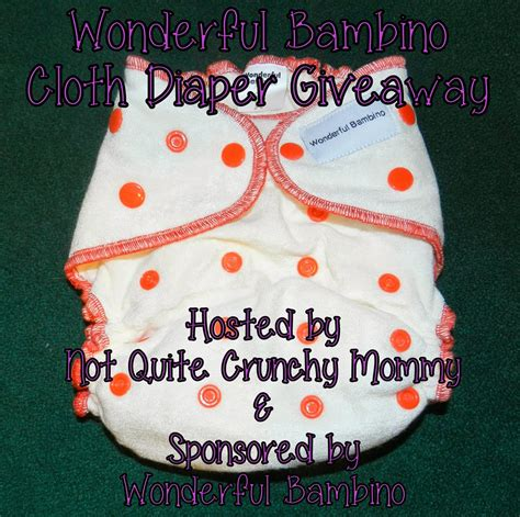 Cloth Diaper Giveaways - wonderful bambino cloth diaper giveaway queen of reviews