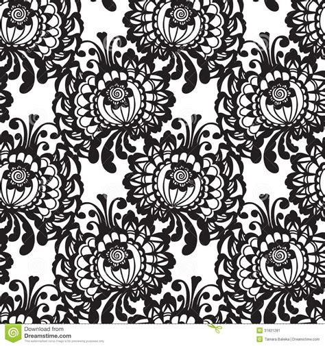 lace seamless pattern vector lace vector fabric seamless pattern stock image image
