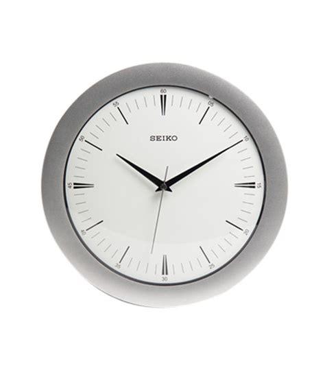 Seiko Silver White seiko silver white wall clock buy seiko silver