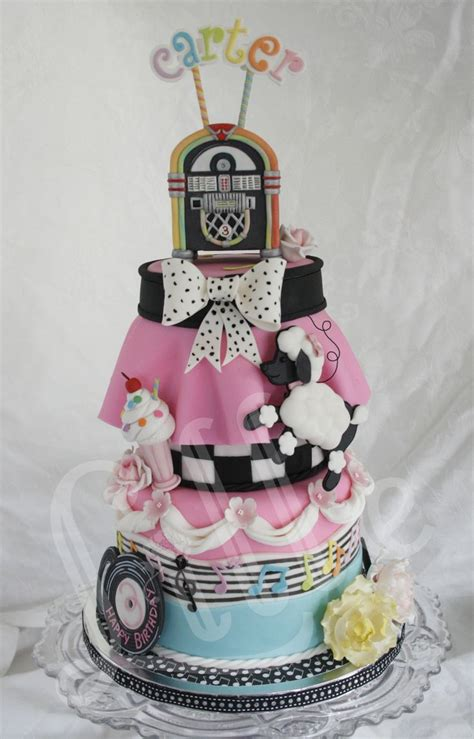 sock hop cake   cake creations   Pinterest   Cake, Cake