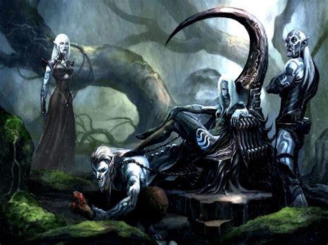 imagenes elfos oscuros otras criaturas de la oscuridad ares cronida