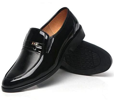 44 dress shoe size 38 44 s dress shoes four season black shoes gentry business shoes 2017 new pu
