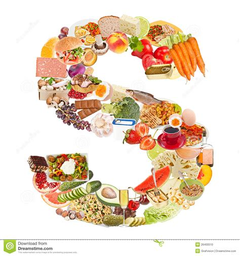 s food letter s made of food stock photo image 26400510