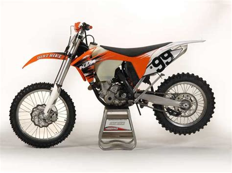 Ktm 350 Dirt Bike New Ktm 350 250 Xcs Dirt Bike Magazine