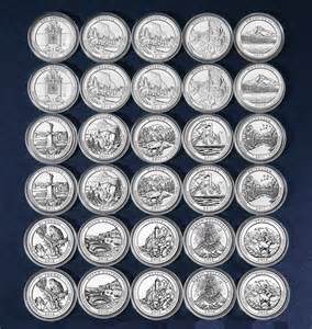 The Quarters Unclaimed America The Beautiful Quarter Lots