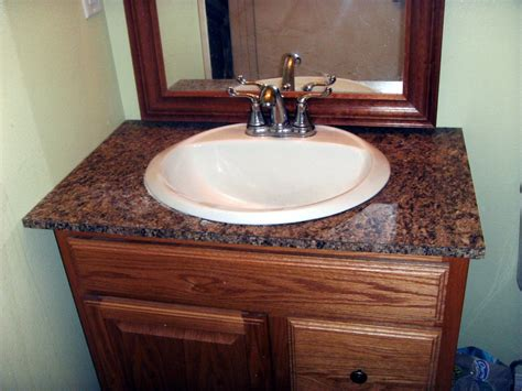 Countertop For Bathroom Vanity How To Install Laminate Formica For A Bathroom Vanity Countertop