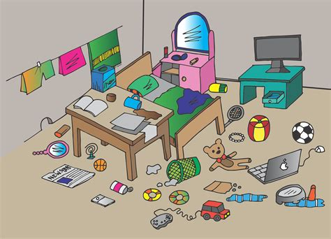 messy bedroom game free 2 play online at pacogames net cleaning up waste and old junk after moving homes will be