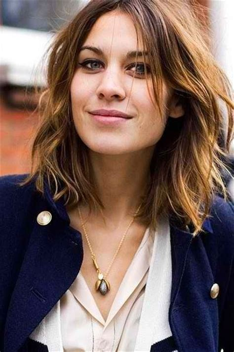 short wavy hair with a middle part haircuts i want to