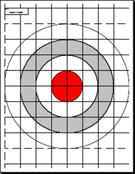 printable laser targets print your own targets gun reviews and more pinterest