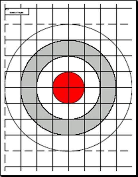 printable airgun targets pdf print your own targets gun reviews and more pinterest