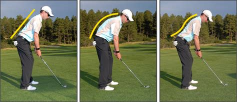 posture in the golf swing scratch the golfin caveman s blog 187 improve your swing