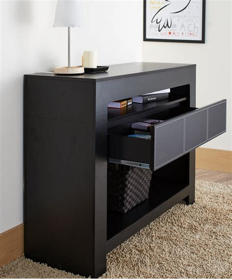 black modern console table 7 modern black console tables furniture