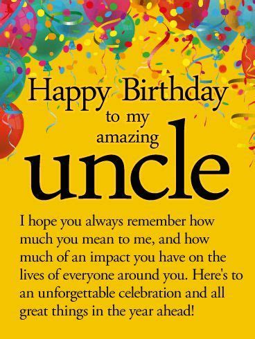 Best 25  Happy birthday uncle ideas only on Pinterest