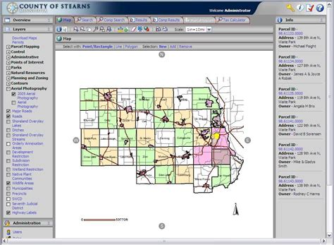 Stearns County Records Gis Lis News Winter 2008 Issue 55 Stearns Property Mgmt Portal Minnesota Gis