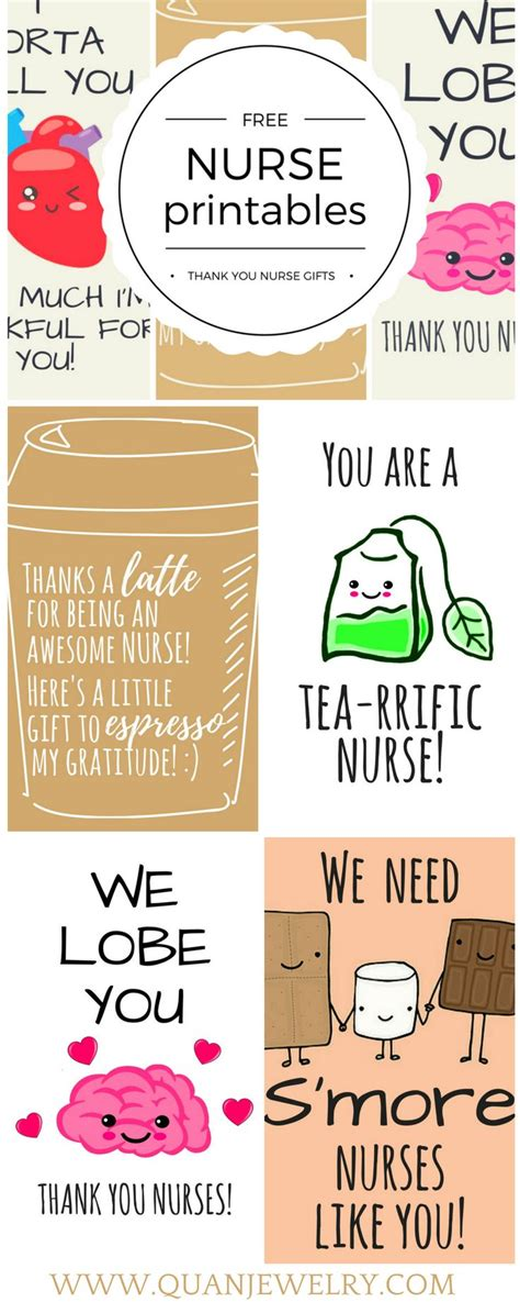 Printable National Appreciation Week Cards