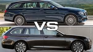 2017 mercedes e class estate vs bmw 5 series touring