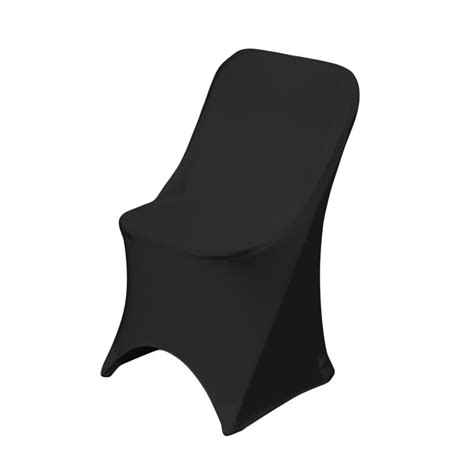 Paper Folding Chair Covers - stretch folding chair cover black linen tablecloth