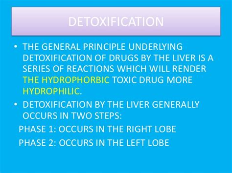 Herxheimer Reaction Liver Detox by Detoxification Of Ibuprofen