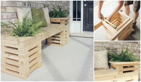 how to build a cedar bench diy cedar bench with planter frames